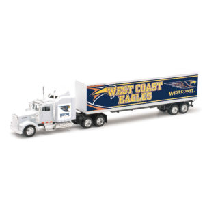 west coast eagles diecast truck