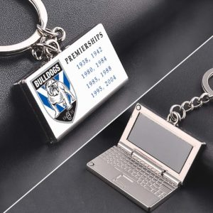 Buldogs Premiership zinc alloy Laptop keyring