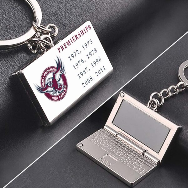 Manly Sea Eagles Premiership zinc alloy Laptop keyring