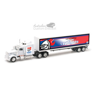 New Castle Knights Kenworth Truck (42cms long)