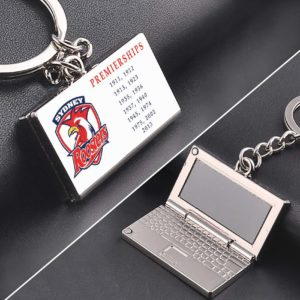 Roaters Premiership zinc alloy Laptop keyring
