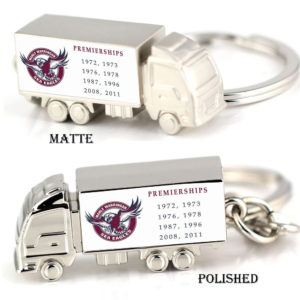 SEA EAGLE premiership zinc alloy truck keyring