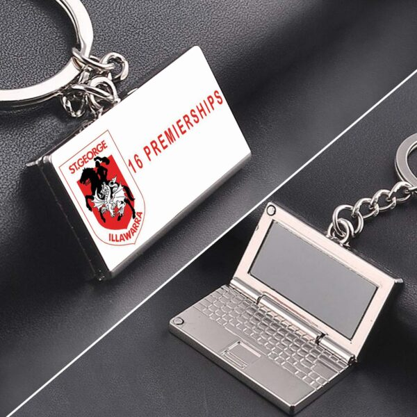 ST-Dragons Premiership zinc alloy Laptop keyring