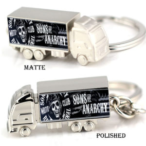 Son of anarchy zinc alloy truck keyring (2)