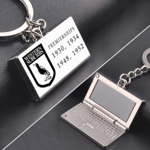 Westerns Premiership zinc alloy Laptop keyring