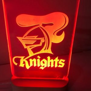 Knight Led Sign