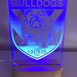 Bulldogs Led Sign