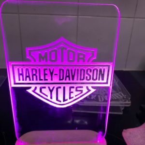 Harley Davidson Cycles Led Sign