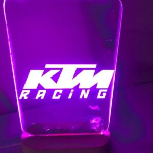 KTM Racing Led Sign