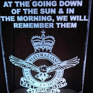 Australian air force Led Sign