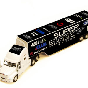 Super Black Racing Truck