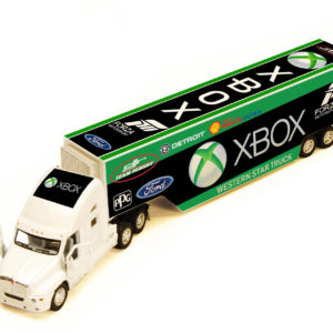 XBOX Racing transporter truck 33cms long