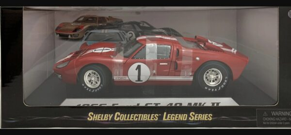 1:18 Ford Shelby GT40 MK II (Red)
