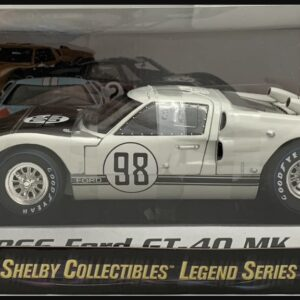 1:18 Ford Shelby 1966 GT40 MK II Gulf White