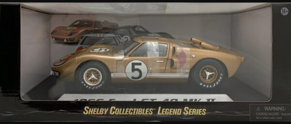 1:18 Ford Shelby 1966 GT40 MK II Gold