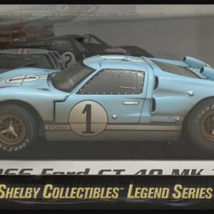 1:18 diecast model car Part of the Shelby Collectibles Legend Series